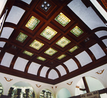 skylight and ceiling