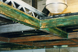 restoring the beams